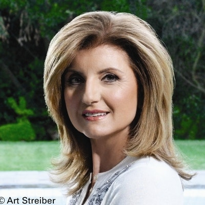 portrait photo of Arianna Huffington