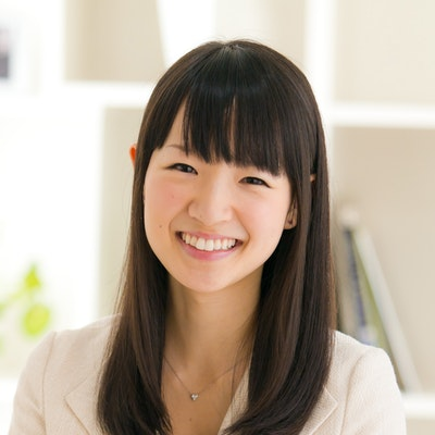 portrait photo of Marie Kondo