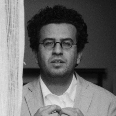 portrait photo of Hisham Matar