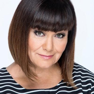 portrait photo of Dawn French