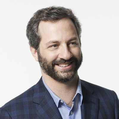 portrait photo of Judd Apatow