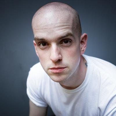 portrait photo of Andrew McMillan