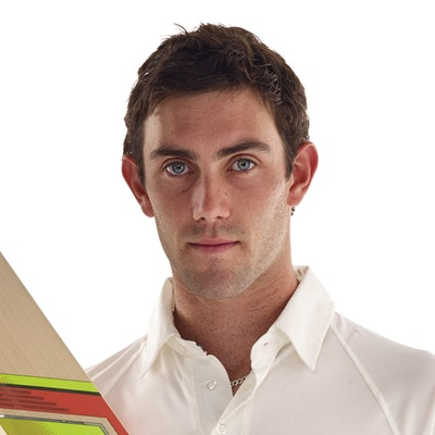 portrait photo of Glenn Maxwell