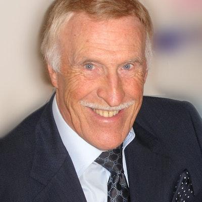 portrait photo of Bruce Forsyth