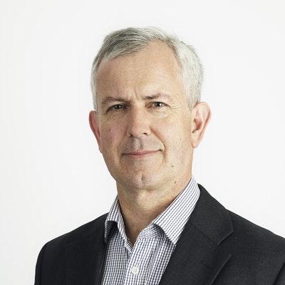 portrait photo of Andrew Gimson