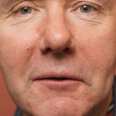 portrait photo of Irvine Welsh