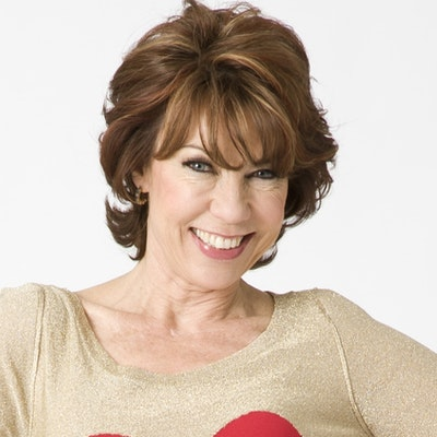 portrait photo of Kathy Lette