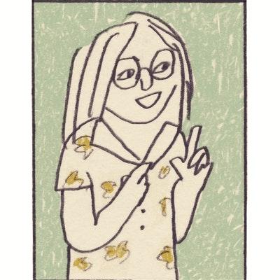 portrait photo of Sarah Lippett