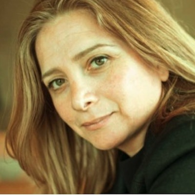 portrait photo of Samar Yazbek