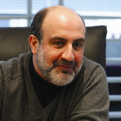 portrait photo of Nassim Nicholas Taleb