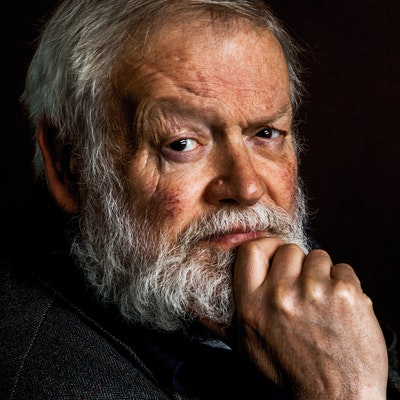 portrait photo of Michael Longley