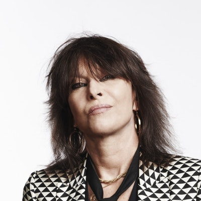 portrait photo of Chrissie Hynde
