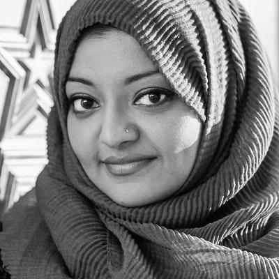 portrait photo of Rabia Chaudry
