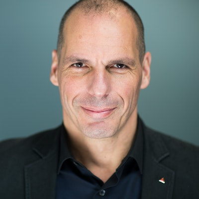 portrait photo of Yanis Varoufakis