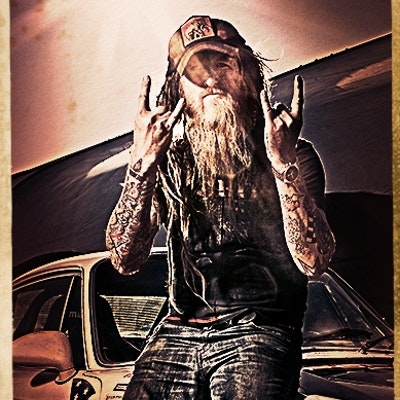 portrait photo of Magnus Walker
