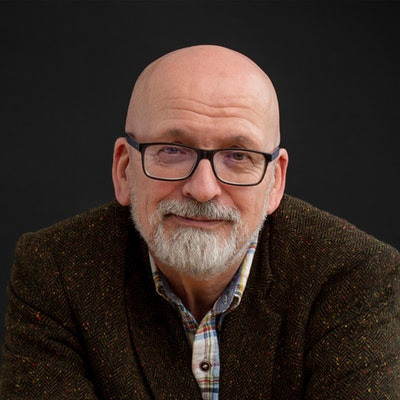 portrait photo of Roddy Doyle