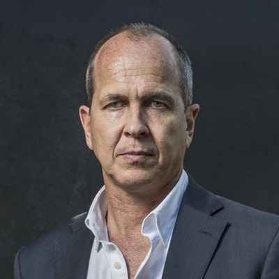 portrait photo of Peter Greste