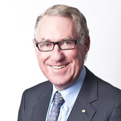 portrait photo of David Gonski