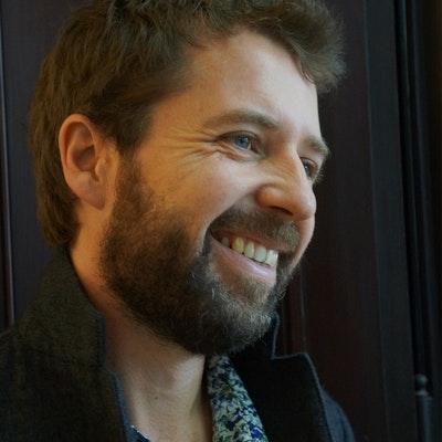 portrait photo of Hamish Clayton