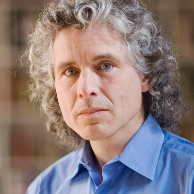 portrait photo of Steven Pinker