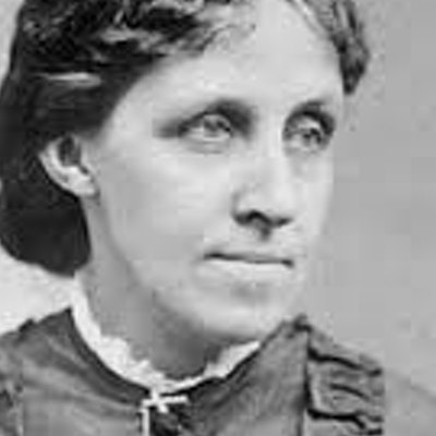 portrait photo of Louisa May Alcott