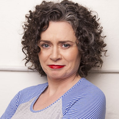portrait photo of Judith Lucy