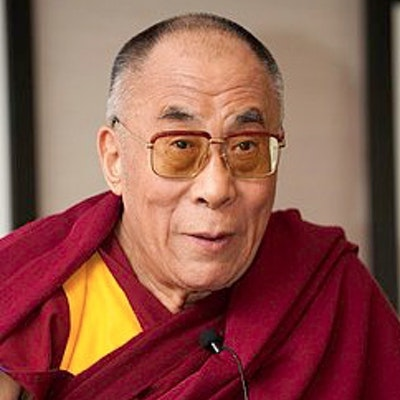 portrait photo of Dalai Lama