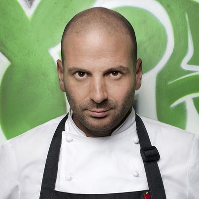 portrait photo of George Calombaris